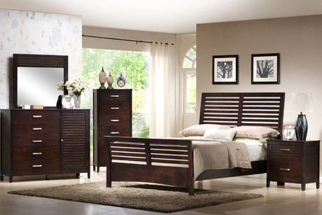 Dalton Complete Queen-Size Bedroom Set From National Furniture Liquidators
