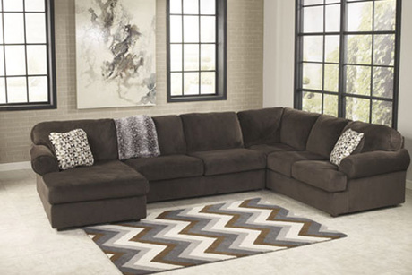 Ashley Three Piece Sectional From National Furniture Liquidators