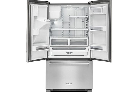 Kitchen Aid Stainless Steel Refrigerator From Sears Outlet