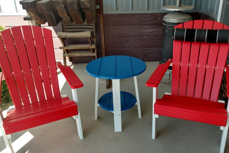 Certificate for Two Adirondack Chairs & Table