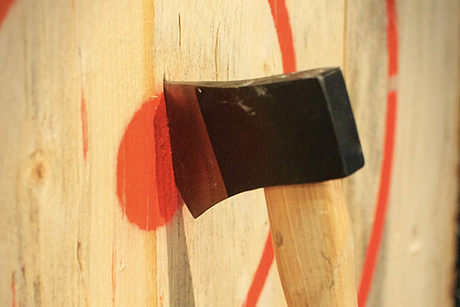 Sling Blades Axe Throwing