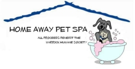 Home away pet spa logo
