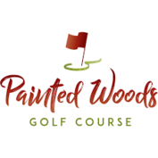 Painted woods logo