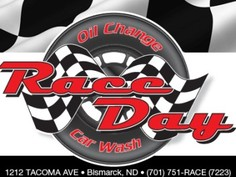 Race day logo
