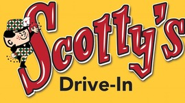 Scottys drive in logo