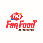 Dq   fan food logo