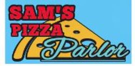 Sam's pizza parlor logo